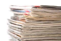 Oude tijdschriften Royalty-vrije Stock Afbeelding