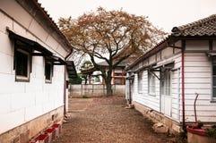 Oude Tomioka-Zijdemolen, Takasaki, Gunma, Japan Royalty-vrije Stock Afbeelding