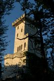 Oude toren royalty-vrije stock afbeelding