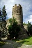 Oude toren in Aosta, Italië Stock Foto's
