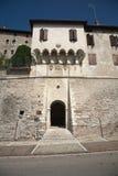 Oude Toren in Feltre, Veneto, Italië Stock Afbeelding