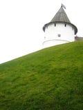 Oude toren in Kazan het Kremlin, Rusland Stock Foto