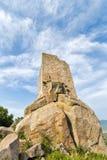 Oude toren op het eiland Stock Afbeeldingen