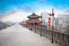 Het landschap van Xian Stock Foto