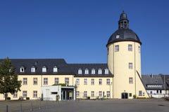 Oude toren in Siegen, Duitsland Royalty-vrije Stock Afbeeldingen