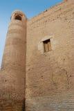 Oude toren van de muur Royalty-vrije Stock Afbeeldingen