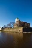 Oude toren in Viborg Royalty-vrije Stock Foto's