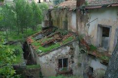 Oude Toscaanse Villa Royalty-vrije Stock Fotografie