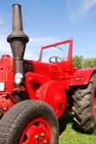 Oude tractor Stock Afbeelding