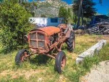 Oude Tractor Royalty-vrije Stock Fotografie