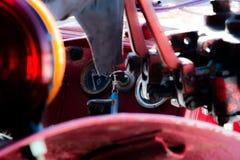 Oude Tractor Stock Fotografie