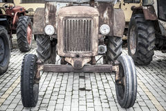 Oude Tractor Royalty-vrije Stock Foto