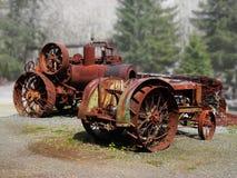 Oude tractoren Royalty-vrije Stock Fotografie