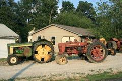 Oude Tractoren Royalty-vrije Stock Foto's