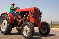 Oude tractoren Royalty-vrije Stock Afbeeldingen