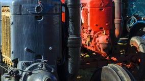 Oude tractoren Stock Fotografie
