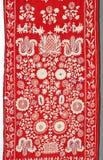 Oude traditionele Oekraïense handdoek Stock Foto's