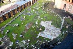Oude Trajan Royalty-vrije Stock Foto