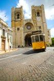 Oude tram Stock Foto's