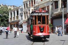 Oude tram Stock Afbeeldingen