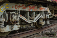Oude tram Royalty-vrije Stock Foto's
