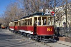Oude tram Royalty-vrije Stock Fotografie
