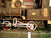 Oude trein, Ä°stanbul, Sirkeci-station Royalty-vrije Stock Afbeeldingen
