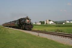 Oude trein Stock Foto