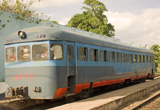 Oude trein Royalty-vrije Stock Afbeelding
