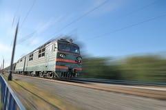 Oude trein Stock Foto's