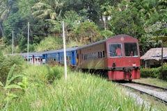 Oude trein Royalty-vrije Stock Afbeeldingen