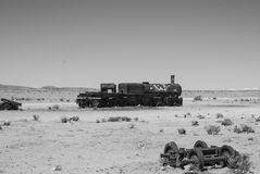 Oude trein Stock Fotografie
