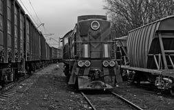 Oude trein Royalty-vrije Stock Foto