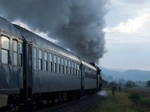 Oude trein Royalty-vrije Stock Fotografie