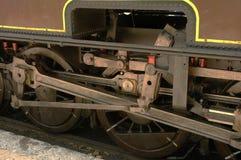 Oude trein in Anduze Frankrijk royalty-vrije stock foto