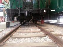 Oude trein in HK royalty-vrije stock afbeelding
