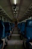 Oude treincabine Royalty-vrije Stock Foto