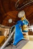 Oude trofee grote optische telescoop Stock Afbeelding