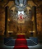 Oude troonruimte 2 Royalty-vrije Stock Foto's