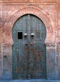 Oude Tunesische deur stock foto's