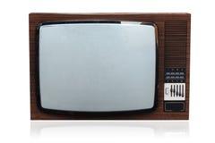 Oude TV royalty-vrije stock afbeelding