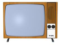 Oude TV Royalty-vrije Stock Afbeeldingen