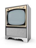 Oude TV Stock Afbeelding