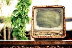 Oude TV Stock Fotografie