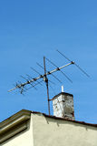 Oude TV-antenne Royalty-vrije Stock Afbeelding