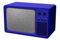 Oude TV het 3d teruggeven Stock Afbeeldingen