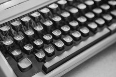 Oude Typewritter Stock Foto