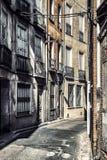 Straat van Perpignan royalty-vrije stock afbeeldingen