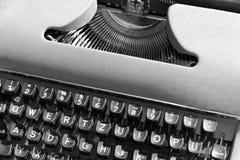Oude typwriter Stock Afbeeldingen