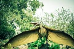 Oude uitgestorven dinosaurus royalty-vrije stock foto